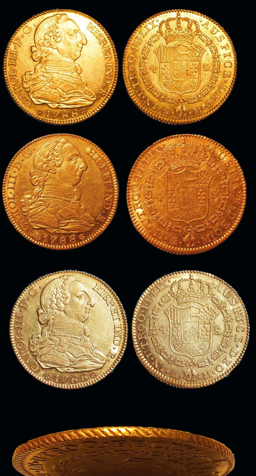 Media onza Carlos III, Madrid 1788 4_unce10