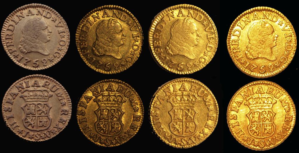 Fernando VI, 1/2 escudo 1759, Sevilla JV Durill11