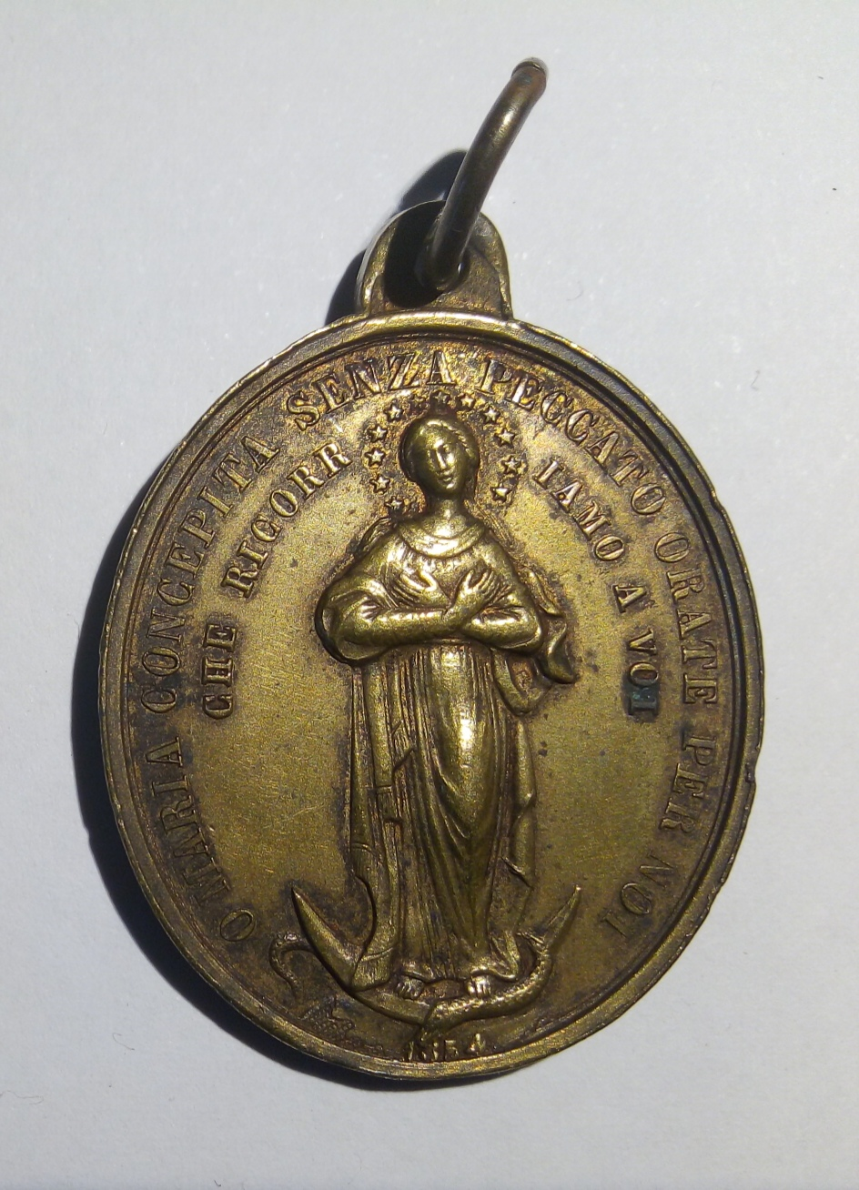 Medalla Pio IX / Inmaculada Concepción - fechada 1854 (R.M. SXIX-O100) Img_2012