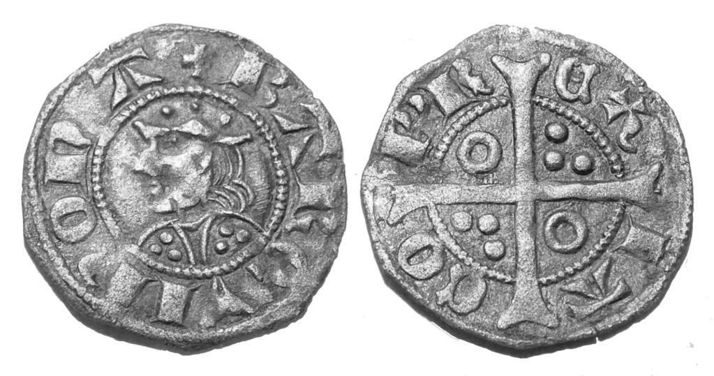 Jaume II (1267-1237) dinero Barcelona  Jaume_10