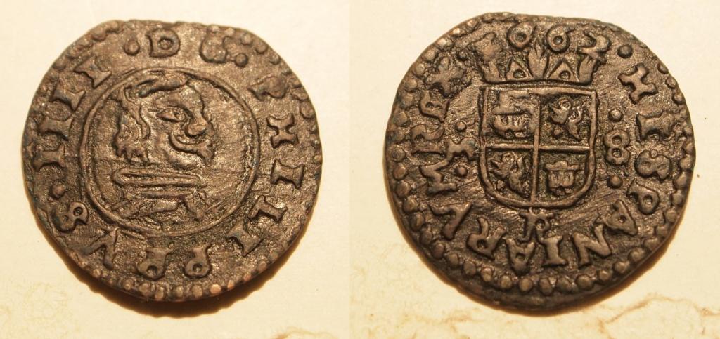 8 maravedís Felipe IV de Trujillo, 1662. M2510