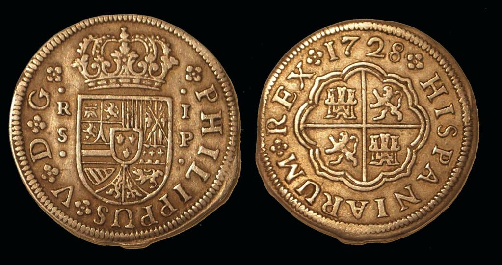 1 Real 1728, Sevilla, Felipe V Real10