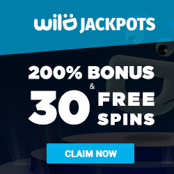 wild jackpots bonus and free spins