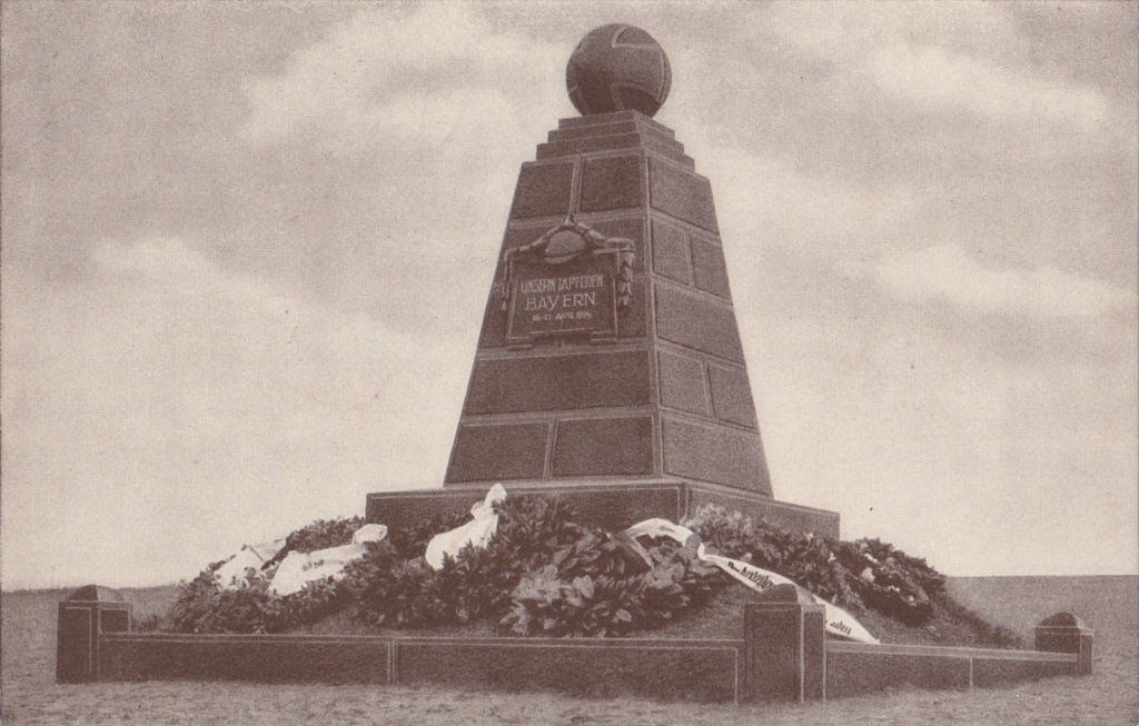 Monument Bavarois, Bataille de Sarrebourg à Réding Carte-10