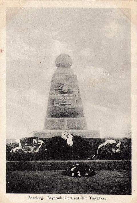 Monument Bavarois, Bataille de Sarrebourg à Réding Rzodin10