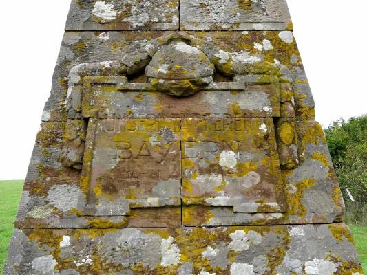 Monument Bavarois, Bataille de Sarrebourg à Réding Rzodin13