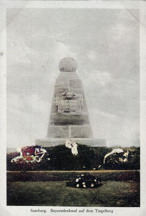 Monument Bavarois, Bataille de Sarrebourg à Réding Rzodin18