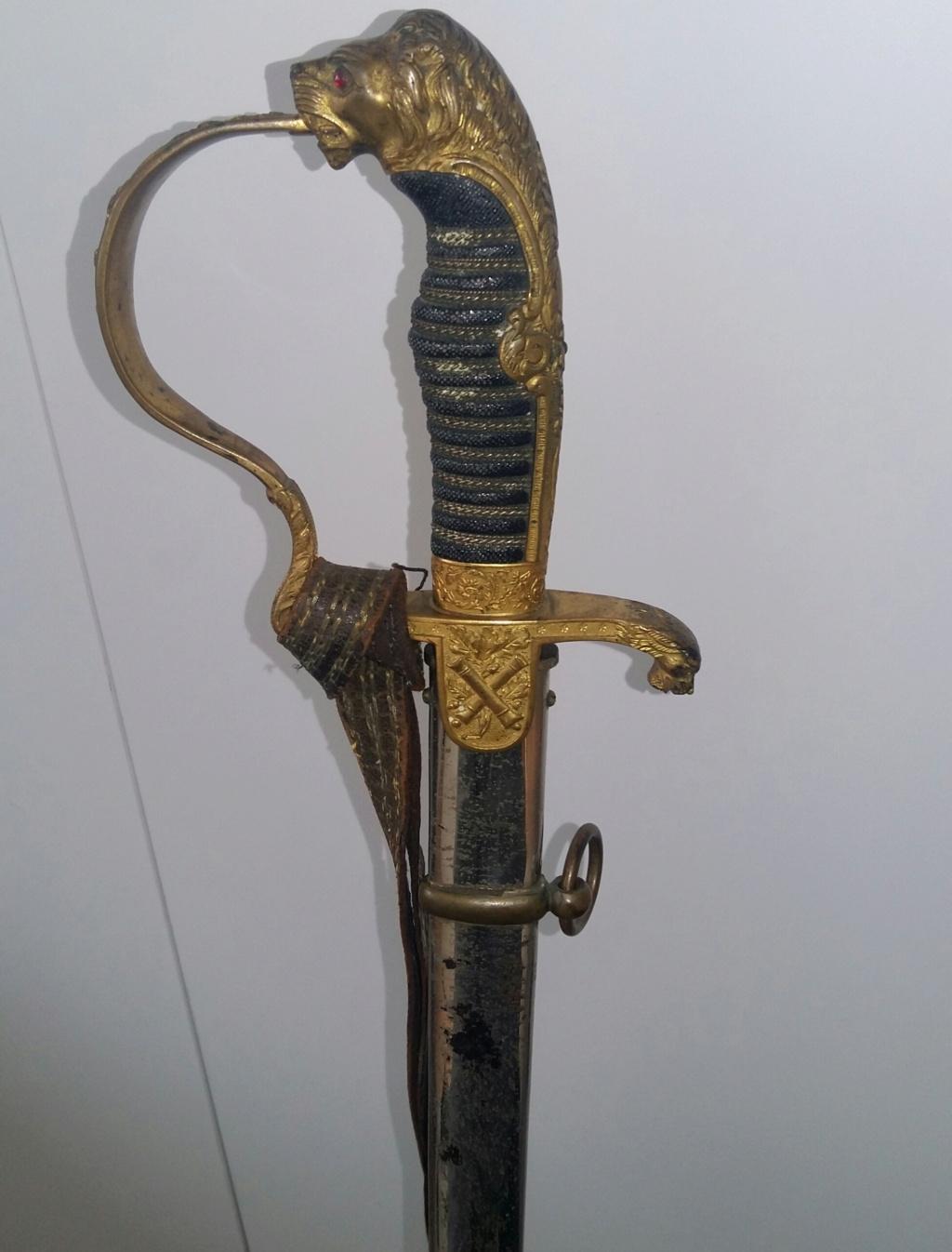 Sabre prussien d'artillerie du fabricant Clemen et Jung de Solingen Sabre_12