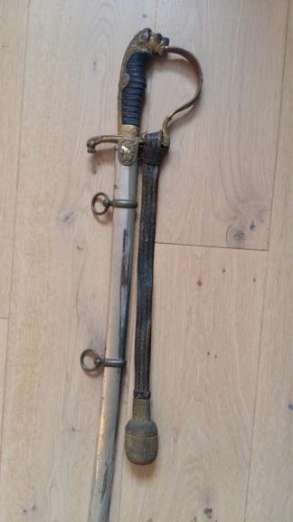 Sabre prussien d'artillerie du fabricant Clemen et Jung de Solingen Sabre_14