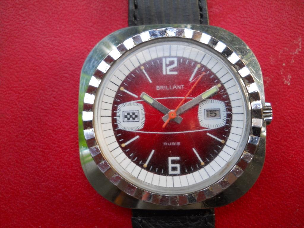 "montre mécanique vintage ""BRILLANT"" Brilla10"