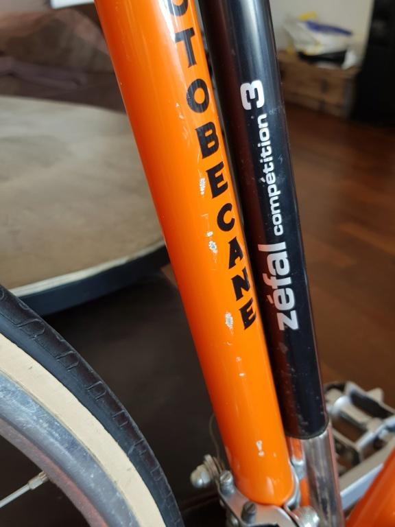 Motobecane Super Champion ORANGE 20210123
