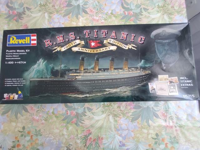 Réalisation du kit Revell 05715 RMS TITANIC 100TH EDITION ANNIVERSARY 20210315