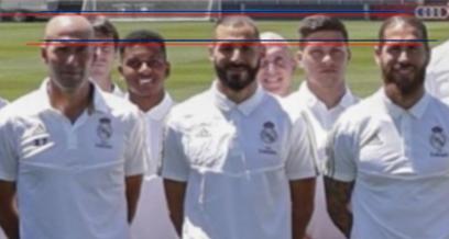 ¿Cuánto mide Zinedine Zidane? - Altura - Real height 116_si10
