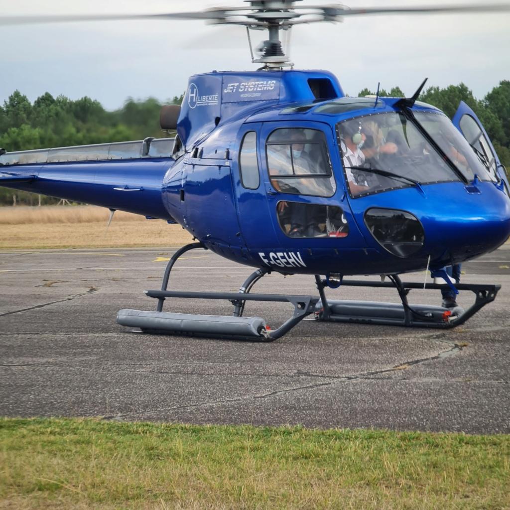 """Vol decouverte Eurocoptere AS350 """"Ecureuil"""" 20210910"""