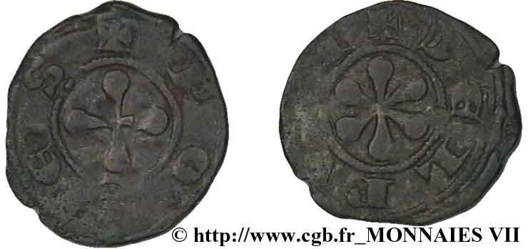 obole du Puy 1150-1200 AUVERGNE-ÉVÊCHÉ DU PUY-ANONYMES- V07_0710
