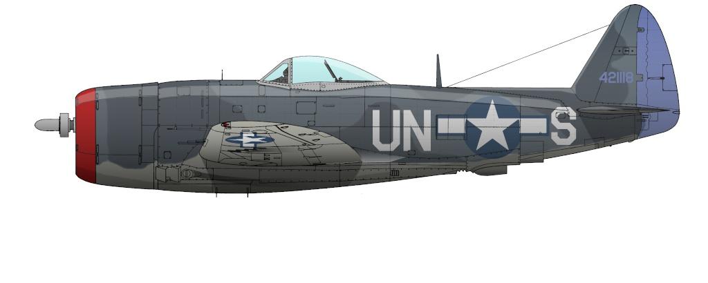 """Republic P-47 """"Thunderbolt"""" P-47d-10"""