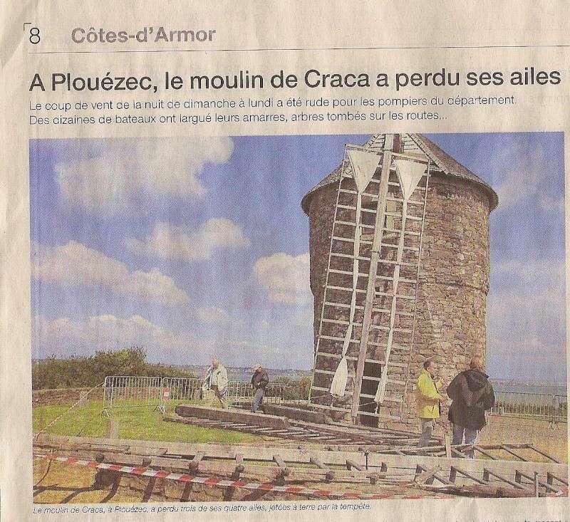 le moulin de Craca à plouézec a perdu ses ailes.... Scan_710