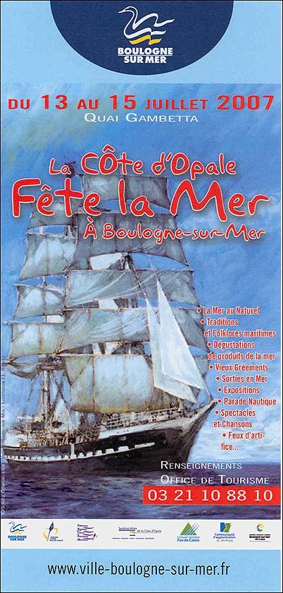 Boulogne Fête de la Mer / 13 - 15 juillet 2007 Fete10