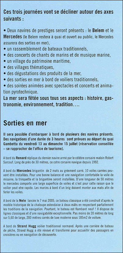 Boulogne Fête de la Mer / 13 - 15 juillet 2007 Fete110