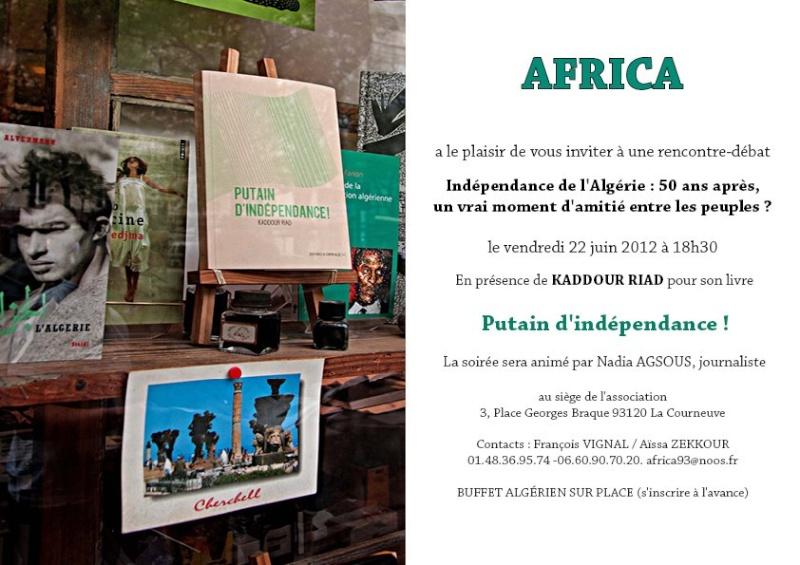 «Putain d'Indépendance» de Kaddour Riad 214