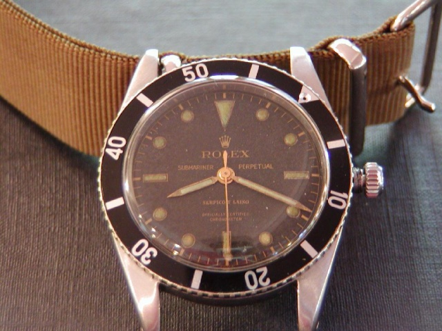 Rolex Oyster 1960 Dial210