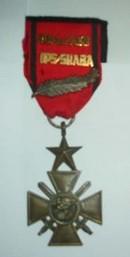 croix de la bravoure zaïroise Croixd11