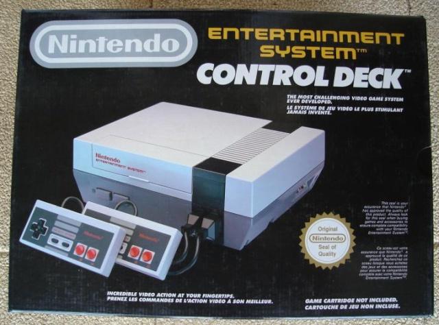[Console]  NES / Nintendo 8 BITS  (Nintendo)  1983 Nescon10