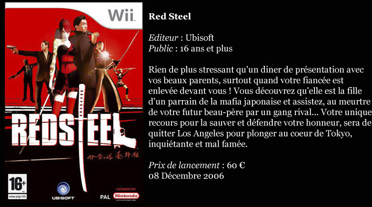 [Console]   Wii  (Nintendo)  2006. Red_st10