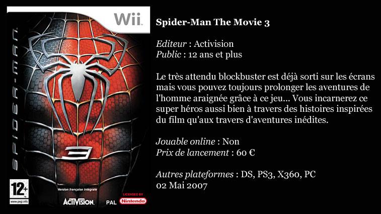 [Console]   Wii  (Nintendo)  2006. Spider10