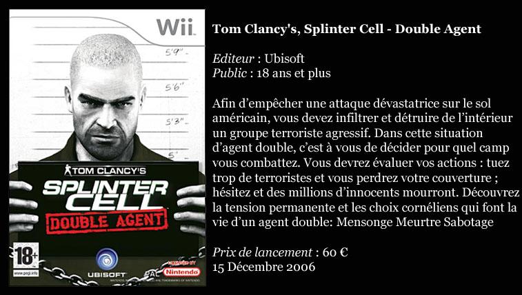 [Console]   Wii  (Nintendo)  2006. Splint10