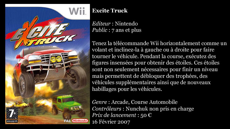[Console]   Wii  (Nintendo)  2006. Wiiexc10