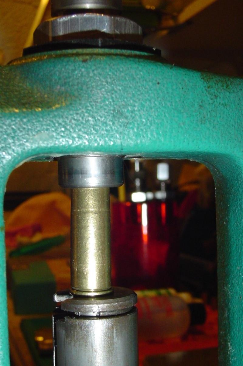douilles de récuperation gonflées au culot: la solution Presse10