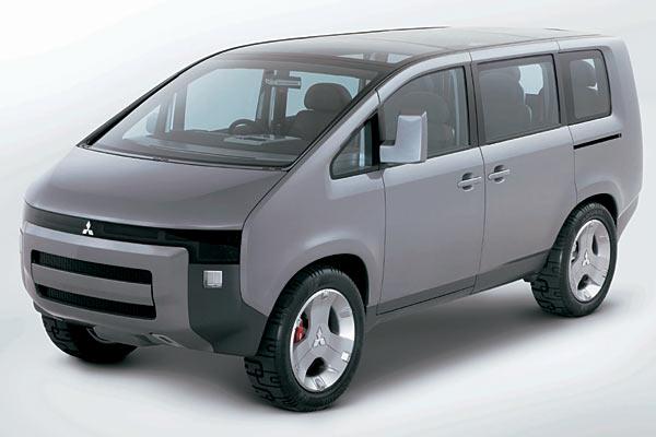 Mitsubishi Concept D:5 D5fron10