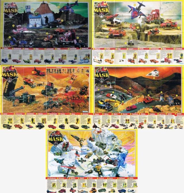M.A.S.K. (Kenner/PlayFul) 1985-1988 Poster11