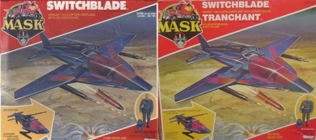 M.A.S.K. (Kenner/PlayFul) 1985-1988 Swit210