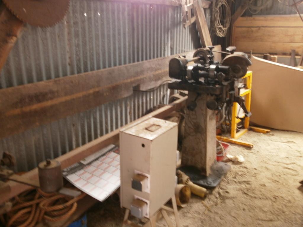 La scierie des Anciennes Mécaniques du Pays de Retz P5110012