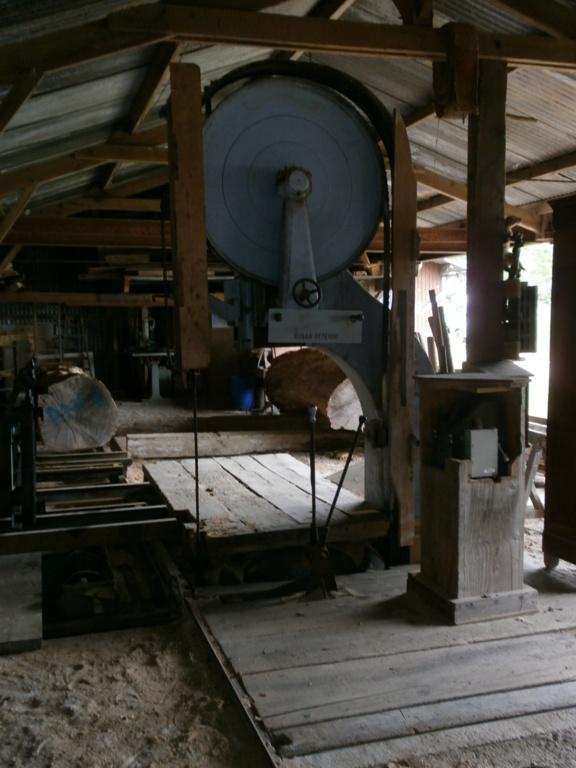 La scierie des Anciennes Mécaniques du Pays de Retz P5110015