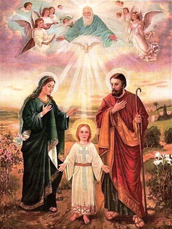 Fête de la Sainte Famille Sainte10