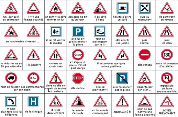 le code de la route ... Humour10