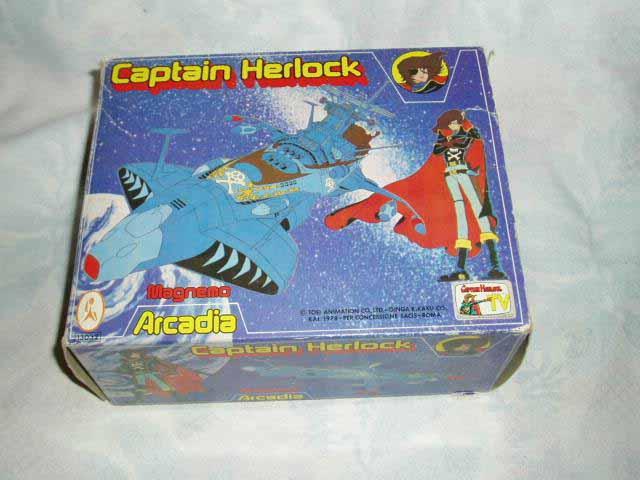 CAPTAIN HARLOCK / Albator (Takatoku/Takara)  1978-1979 Harloc13