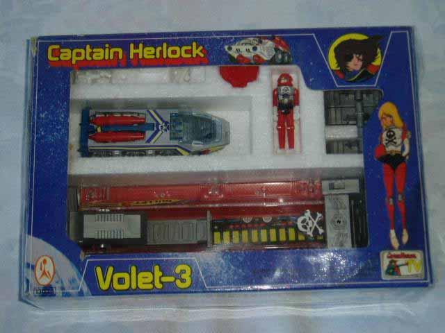 CAPTAIN HARLOCK / Albator (Takatoku/Takara)  1978-1979 Harloc29