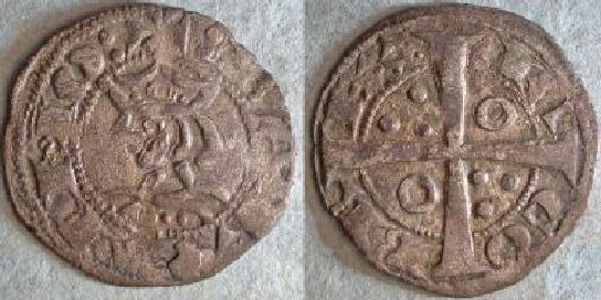 Dinero de Jaime I (Barcelona 1213-1276 d.c) Jaume110