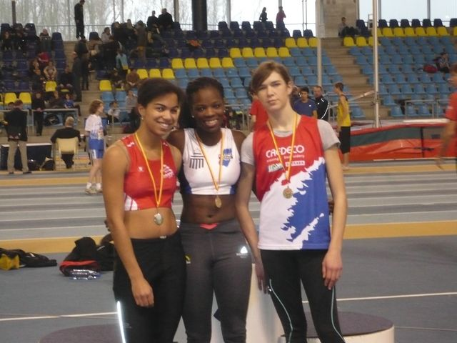Championnats Francophones à Gand, le 16/01/2010. Caf_ga19