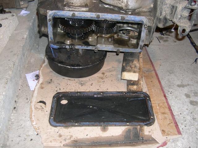 Remise en état de la boîte de vitesses de serie III... 0211