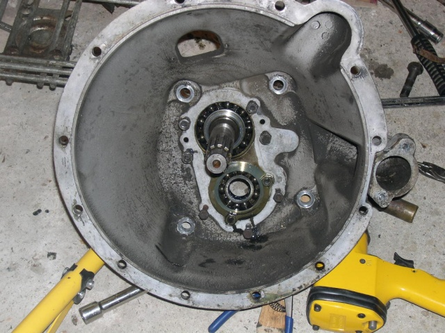 Remise en état de la boîte de vitesses de serie III... 0810