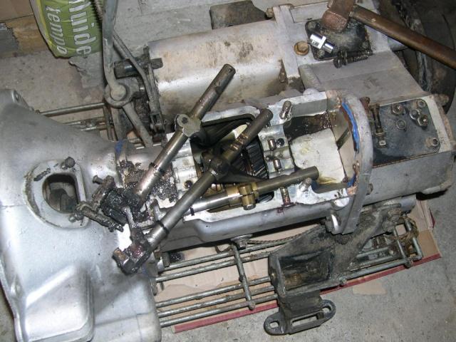 Remise en état de la boîte de vitesses de serie III... 810