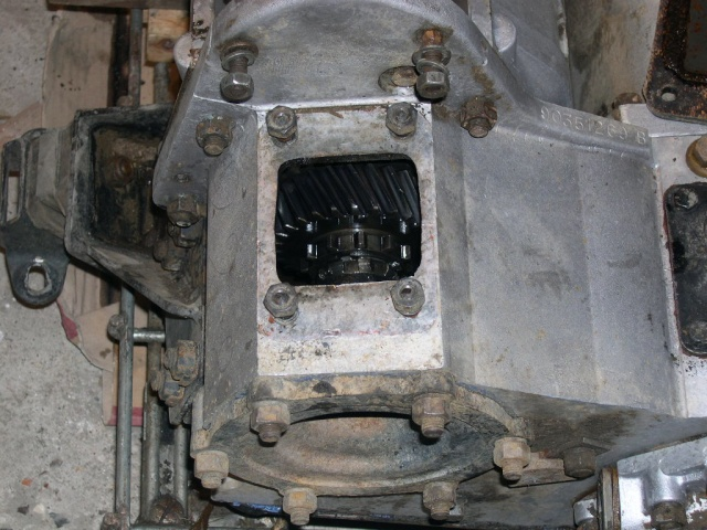 Remise en état de la boîte de vitesses de serie III... A10