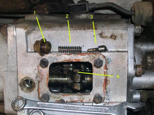 Remise en état de la boîte de vitesses de serie III... B11