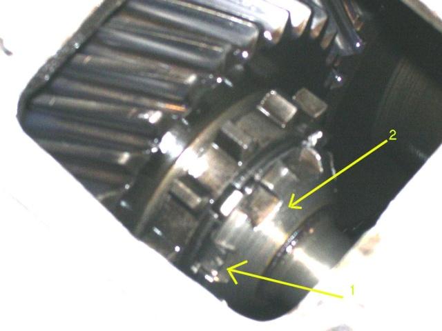 Remise en état de la boîte de vitesses de serie III... C10