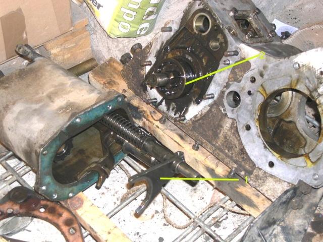 Remise en état de la boîte de vitesses de serie III... E11